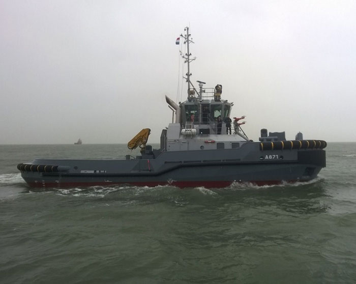 Damen Signs 7-Year Maintenance Contract with Dutch & Swedish Navies