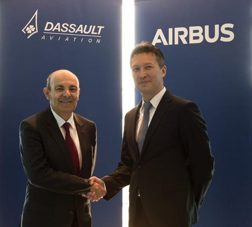 Dassault Aviation, Airbus Join Forces on Future Combat Air System