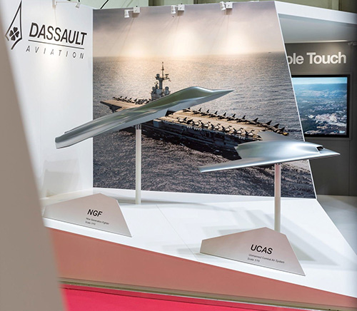 Dassault Presents New Generation Fighter (NGF) at Euronaval