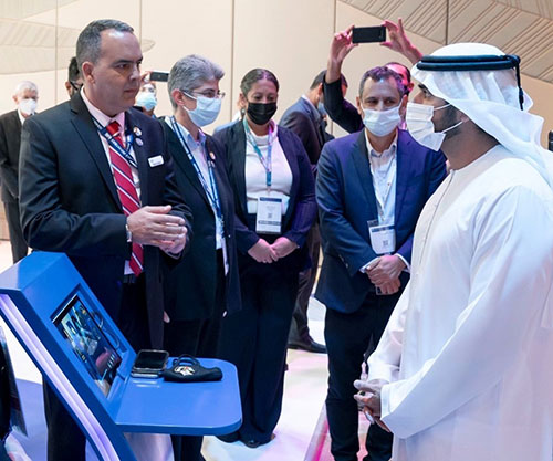 Dubai Crown Prince Inaugurates 8th Edition of Cybertech Global