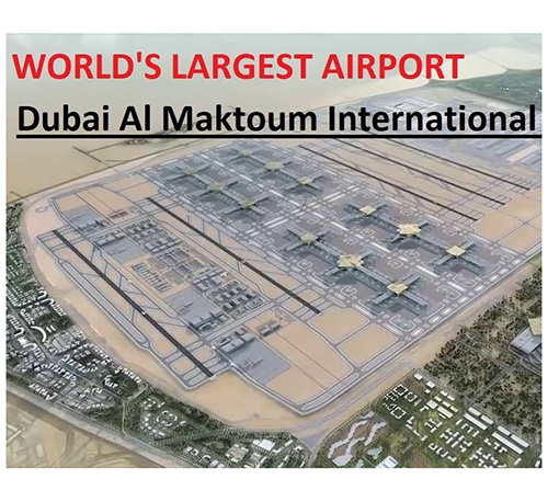Dubai Invites Bids for Largest Airport Substructure Package