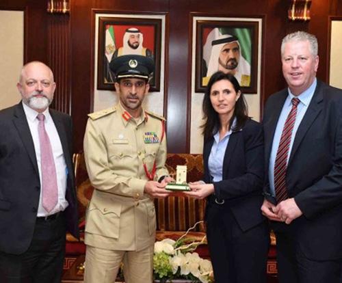 Dubai Receives London Metropolitan Police Delegation