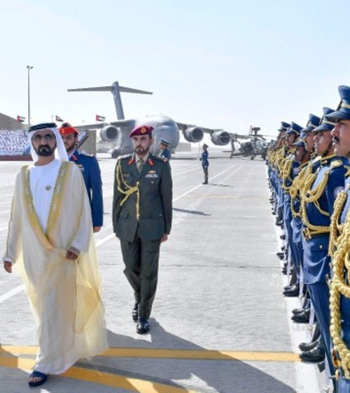 Dubai Ruler Attends Khalifa Air College Graduation
