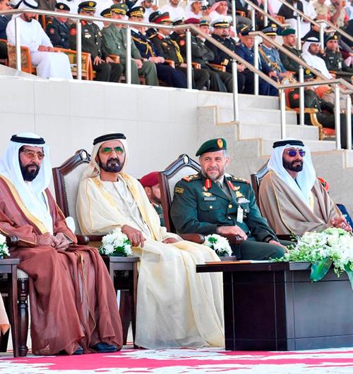 Dubai Ruler Patronizes Zayed II Military College Graduation