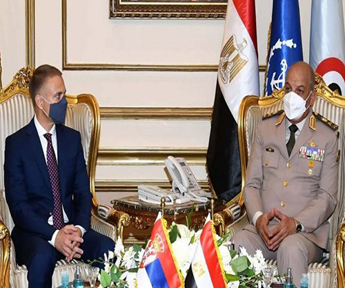 Egypt, Serbia Sign Military Cooperation Agreement