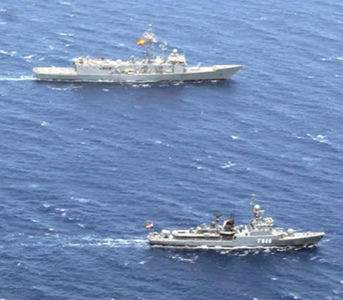 Egypt, Spain Conclude Joint Naval Exercises in Mediterranean Sea