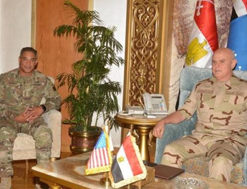 Egypt's Chief-of-Staff Receives US CENTCOM Commander