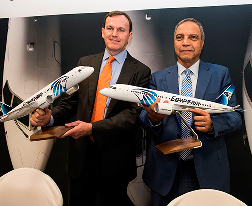 EgyptAir to Acquire up to 24 CS300 Aircraft