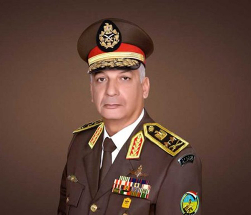 Egyptian Defense Minister Attends Paris Air Show 2019