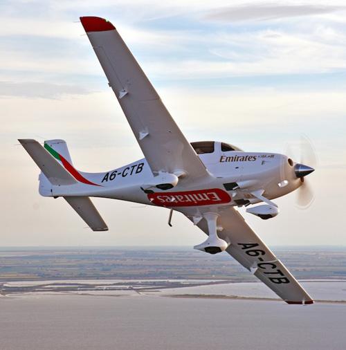 Emirates FTA Receives First Embraer Phenom 100EV
