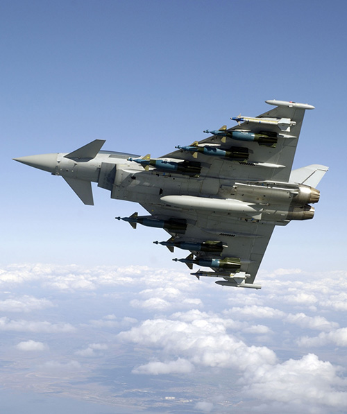 Eurofighter Typhoon Proves Swing Role Capabilities