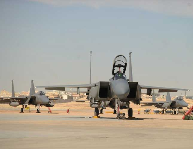 F15-SA Fighter Joins Royal Saudi Air Force Fleet