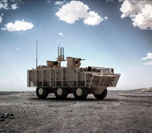 FNSS Starts Initial Assembly of the PARS 6X6 Mine Protected Wheeled Armoured Vehicle