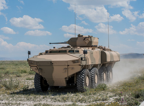 FNSS Delivered First 8x8 PARS III APC to Oman