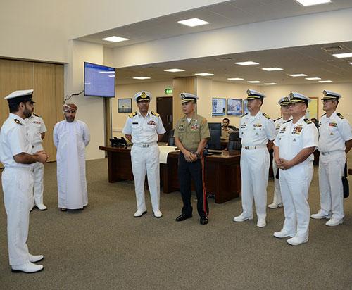 Filipino Navy Delegation Visits Oman's Maritime Security Center
