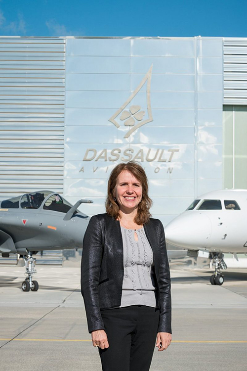 First Female Member Joins Dassault Aviation's Executive Committee