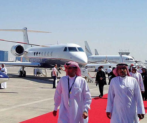First Saudi International Airshow Attracted 14,750 Delegates