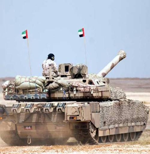 Flag4 Military Exercises Kick Off in UAE