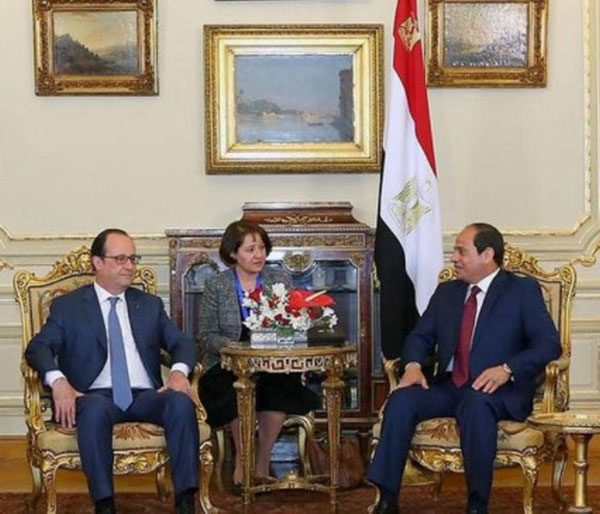 France Inks Military Telecommunications Satellite Deals with Egypt