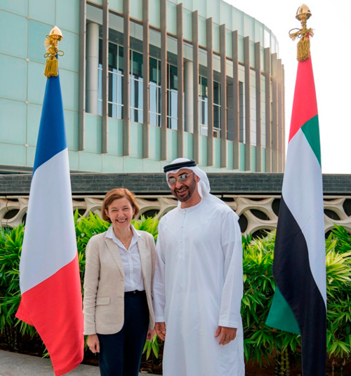 French Armed Forces Minister Visits UAE