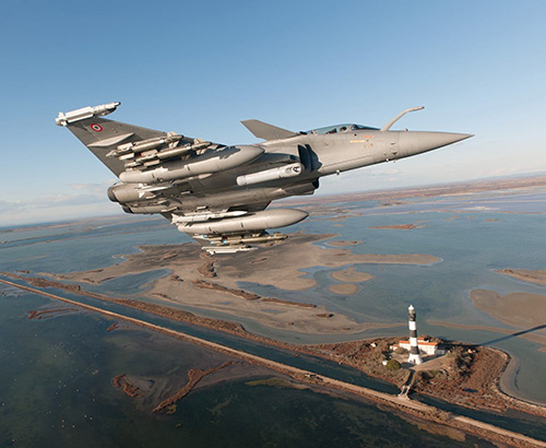 French Navy Receives First Rafale F3-R Standard