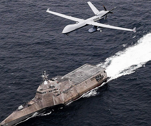 GA-ASI Participates in U.S. Pacific Fleet's Unmanned Integrated Battle Problem