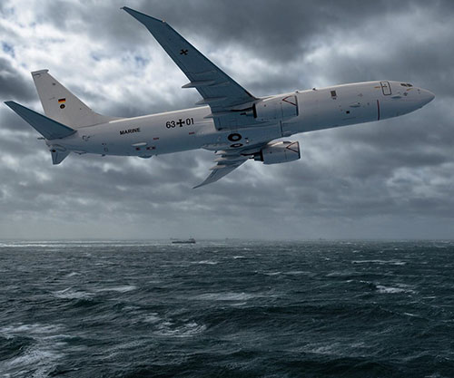 Germany Becomes 8th Customer for Boeing's P-8A Poseidon Aircraft