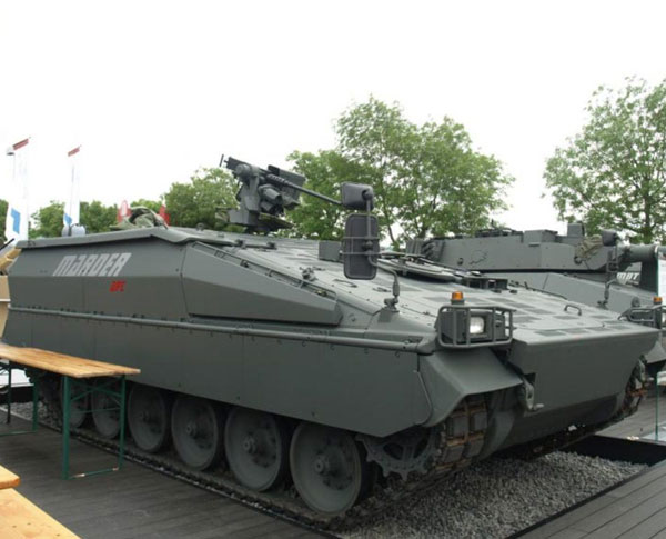 Germany to Help Tunisia, Jordan Acquire Armored Vehicles