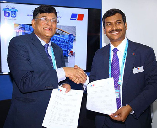 Goa Shipyard to Manufacture MTU Engines in India