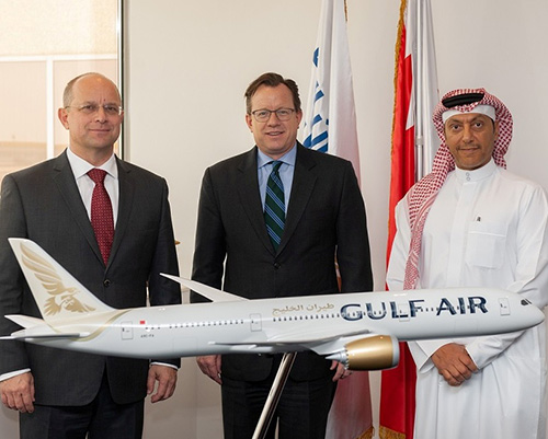 Gulf Air Management Meet US Ambassador to Bahrain