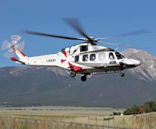 Gulf Helicopters First Customer for Leornardo's New AW189K Helicopter