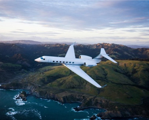 Gulfstream Delivers 550th G550