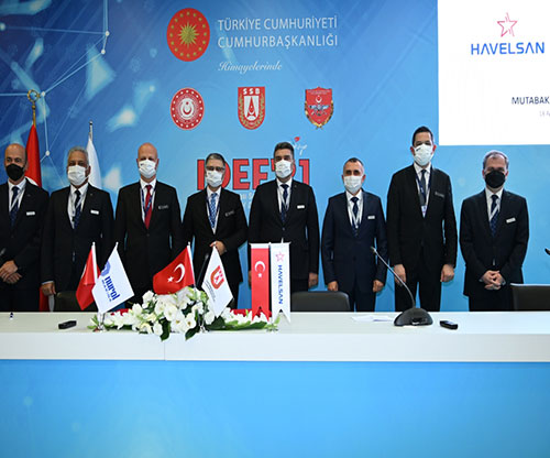 Havelsan Signs MoUs with Prominent Turkish Defense Companies at IDEF'21