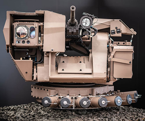 Hornet Presents its Remote-Controlled Weapon Stations at SOFINS after First Launch at IDEX