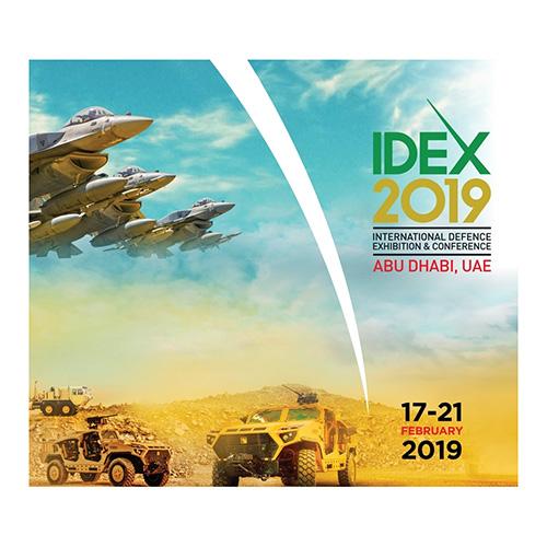 IDEX & NAVDEX 2019 Secure 95% Space Booking