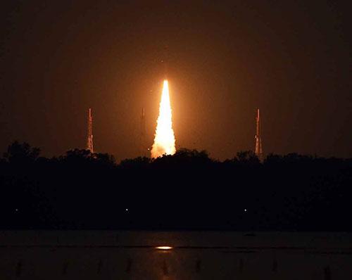 India Launches Radar Imaging Satellite RISAT-2B