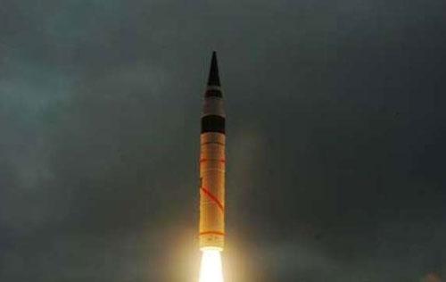 India Test Fires Nuclear-Capable Agni-I Ballistic Missile