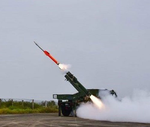 India Test-Fires Quick Reaction Surface to Air Missile (QRSAM)