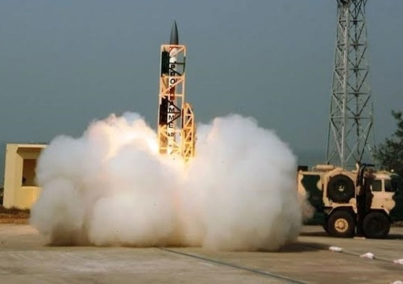 India Tests Advanced Version of Interceptor Missile