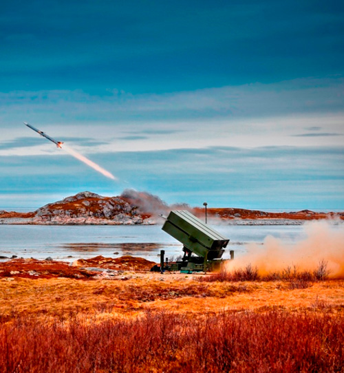 Indonesia Selects NASAMS Air Defense System