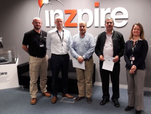 Inzpire Delivers Cyber, UAS, ISR Training to Royal Jordanian Air Force