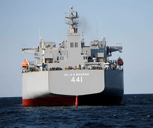 Iran Concludes Naval Drill in Oman Sea, Indian Ocean with Two New Warships