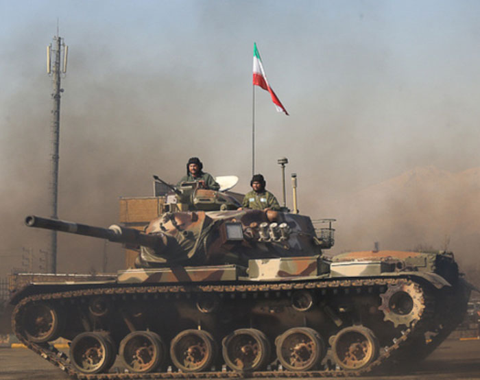 Iran Equips M60 Tanks with Anti-TOW Jamming System