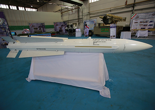 Iran Inaugurates Production Line of New Air-to-Air Missile