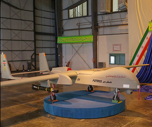 Iran Says in Possession of Intercontinental Drones