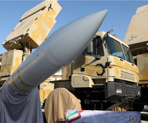 Iran Unveils Bavar 373 Missile Defense Shield