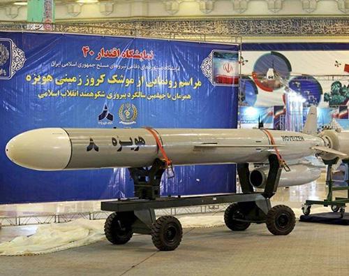 Iran Unveils Hoveizeh Long-Range Cruise Missile