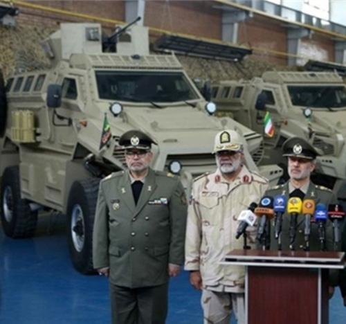 Iran Unveils New 4x4 MRAP Personnel Carrier