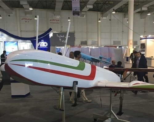 Iran Unveils New Drone Enhancements
