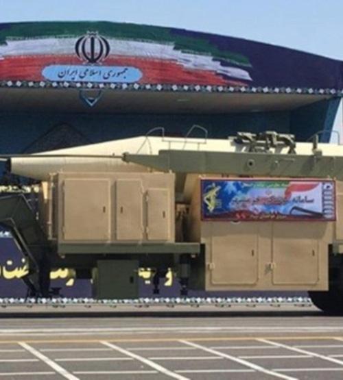 Iran Unveils New Long-Range Ballistic Missile
